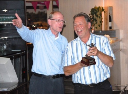 Happy Leo van Rijn winner of 2013 VZM golf tournament